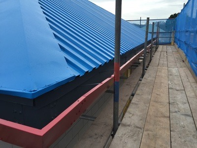Bournemouth Hospital Roof Spray Painting